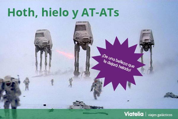 turismo star wars VII el despertar de la fuerza viajes Hoth