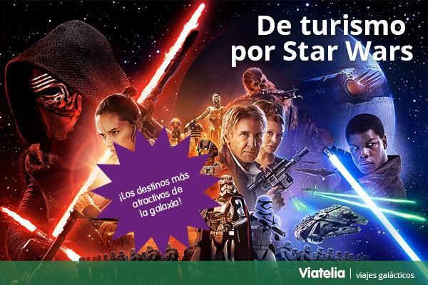 turismo star wars VII el despertar de la fuerza viajes