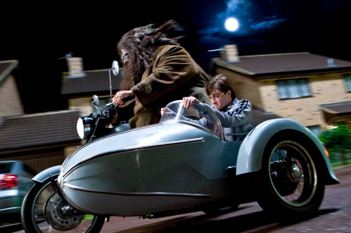 Sidecars-cine-televisión-harry-potter-hagrid