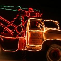 Adornos de navidad para coche Luces 3